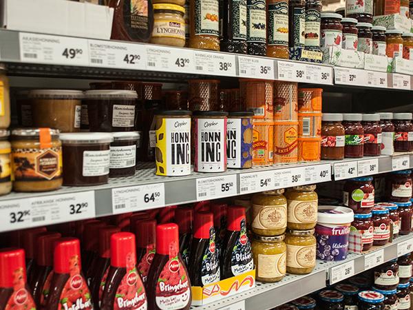 honey jars honey jars groceries Consumer goods norway Norwegian design