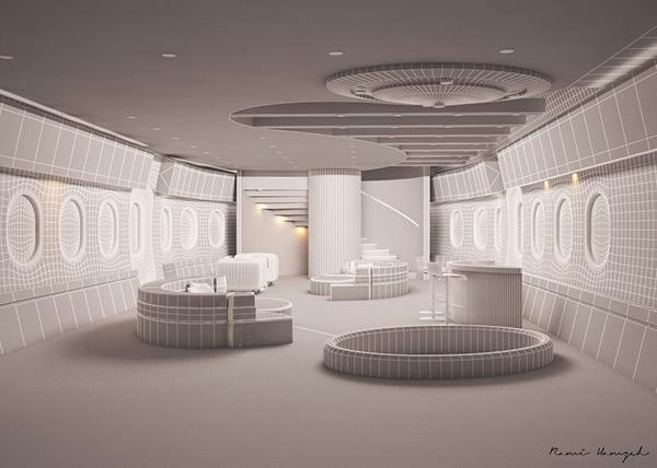 air plane interior design on behance