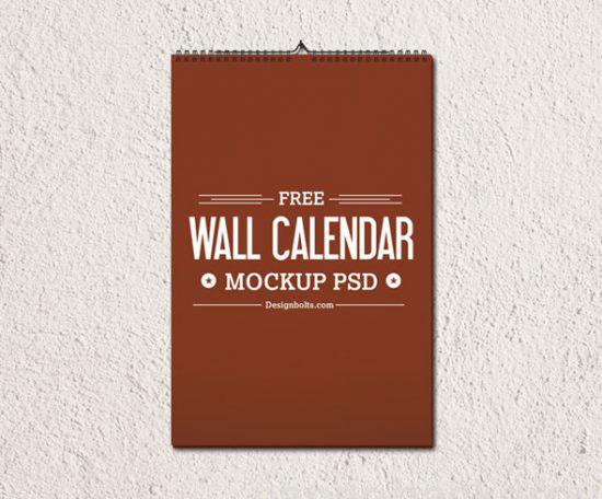 Free wall calendar mockup psd templates on behance saigontimesfo