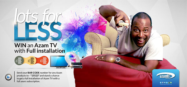 Azam TV on Behance