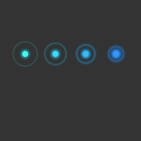 CSS3 animation examples on Behance