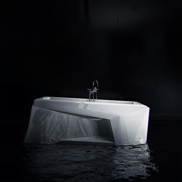 bath ice iceberg bathroom eco KO+KO concept