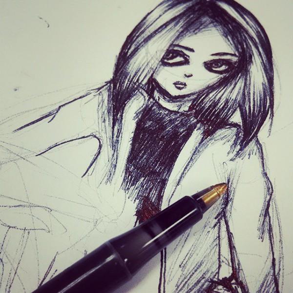 darawing manga sketches sketch characterdesign