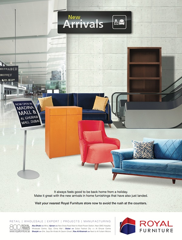 Royal Furniture: Ads On Behance