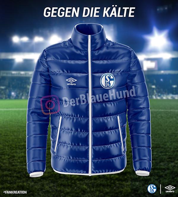 Schalke 04 - jacket concept | DerBlaueHund