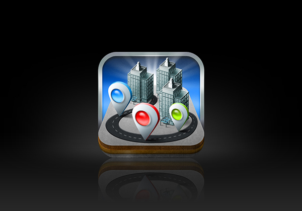 Apps Icons Design Toyota App Icon Design on