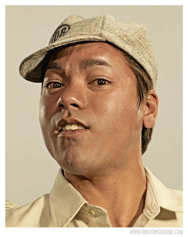 Bruton Stroube Studios Portraits Brandon Voges Upside Downy Face