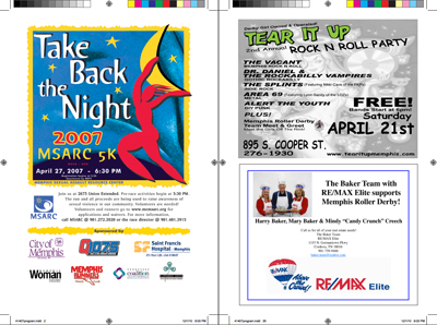 Bout Program,print layout,InDesign
