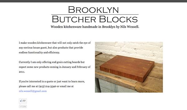 brooklyn butcher blocks on behance