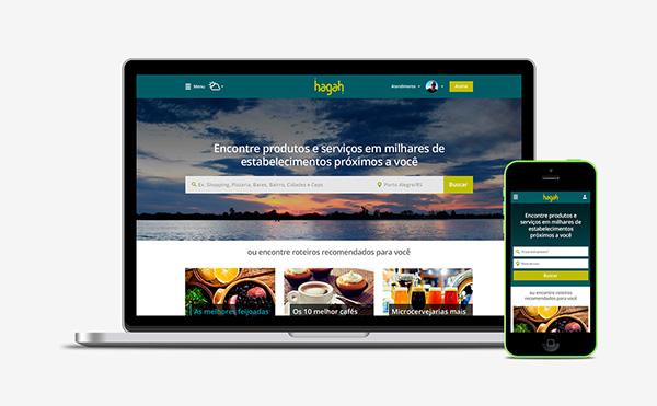 ux design local search Web