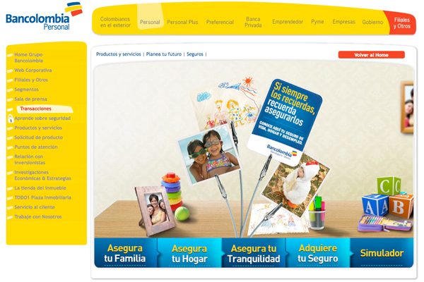 Bancolombia Tribalddb Colombia On Behance