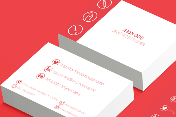 and modern resume cover letter and business card template for graphic