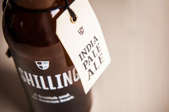 shilling beer Logo Design austria packaging design