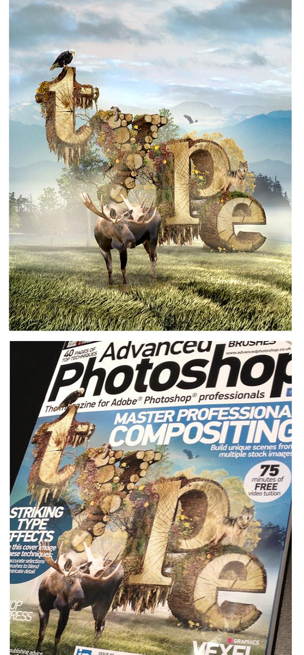 ABC Already Been Chewed AlreadyBeenChewed.tv Barton Damer Illustrator advanced photoshop magazine Cinema 4d 3D animal wildlife cover