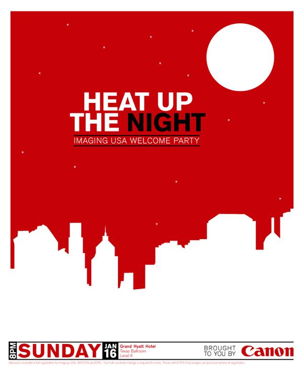 simple event poster design