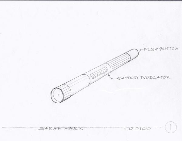 flashlight design project on behance