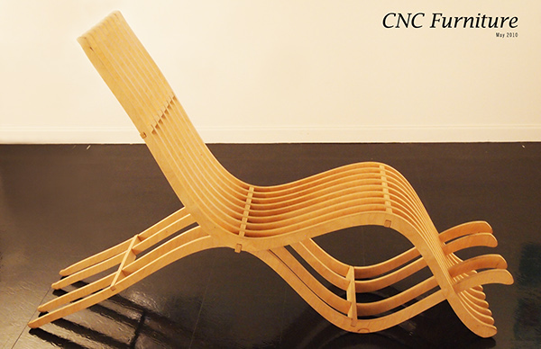 Cnc Furniture Project On Behance