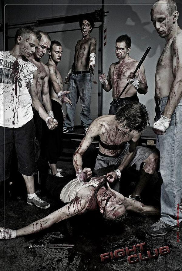 Manipulated in fight club