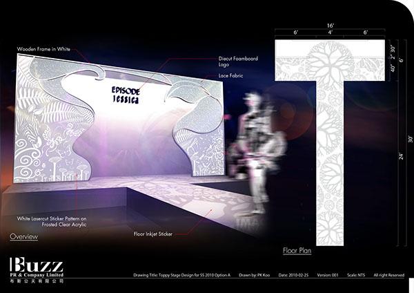 Toppy Fashion Show Stage Design On Behance