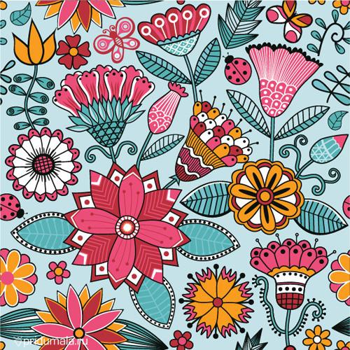 Summer patterns on Behance