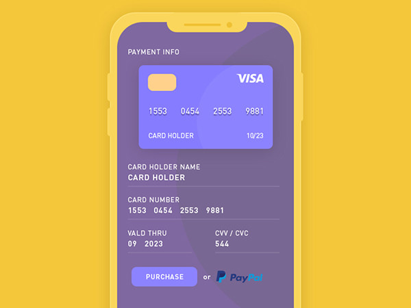 Online Payment | Daily UI