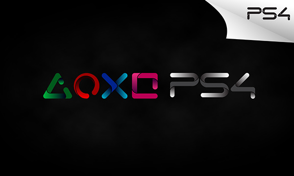 Playstation 4 logo concept on behance - High resolution playstation logo ...