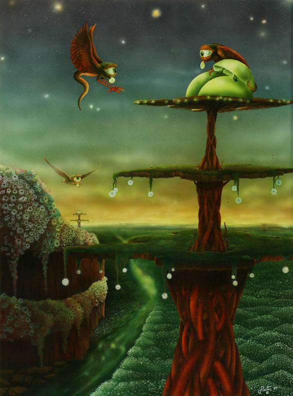 fantasy science fiction Fairey creature elf RIPPER dragon sea serpent alien