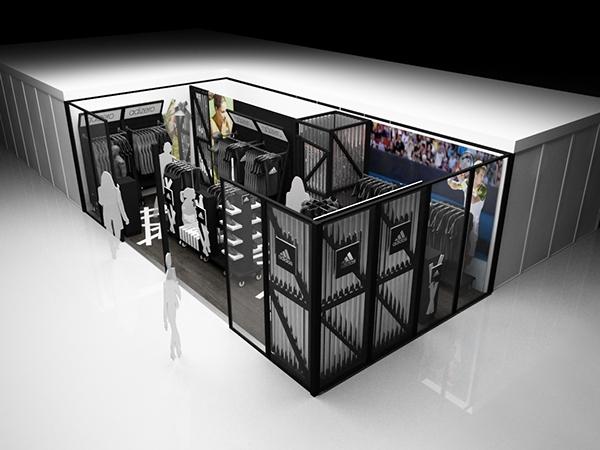 design industrial shop expo