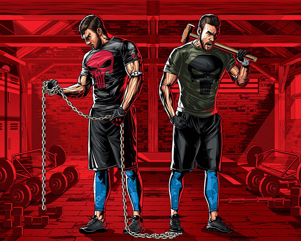 Under Armour - Alter Ego by Cristiano Siqueira