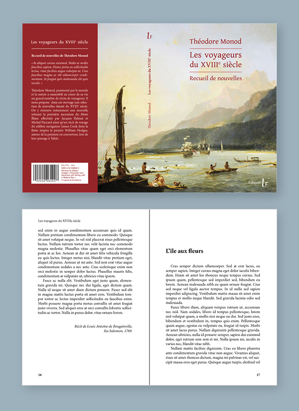 livre, couverture, mise en page, graphiste, lozère, cévennes, julie mercey