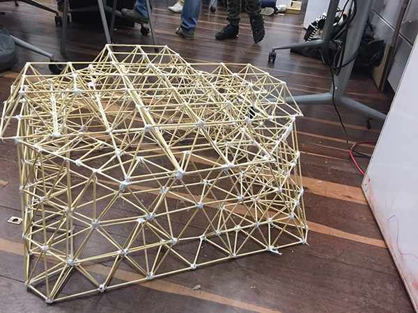 Cb taller t cnico ii estructuras convencionales 201620 on for Estructura arquitectura