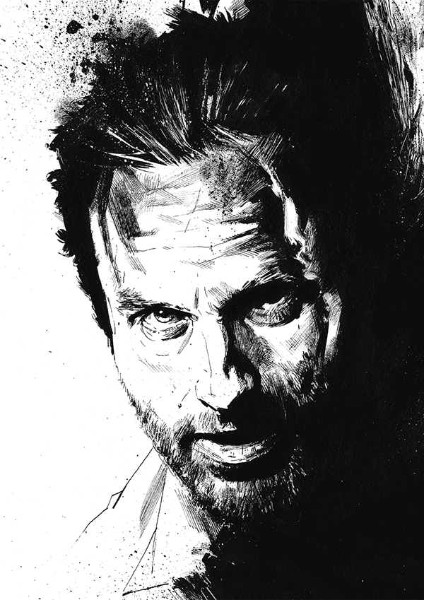 The walking dead illustrations