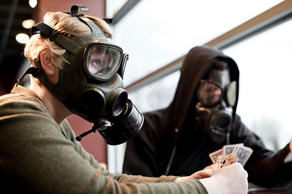 Clean Air preservation preserve pa campaign gas masks