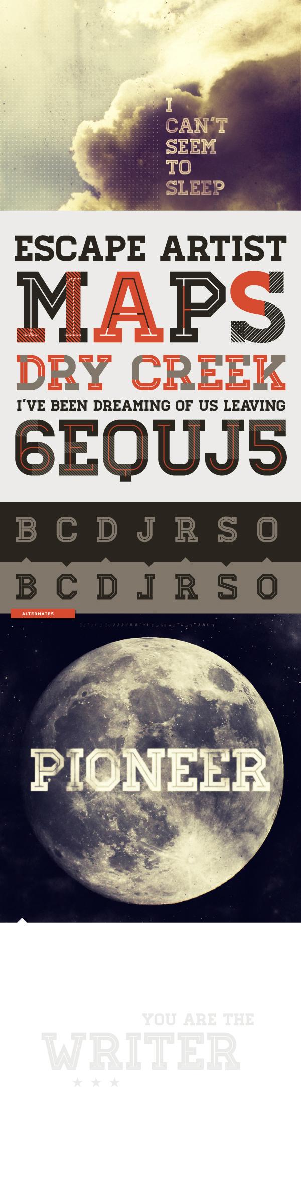 font download Typeface lettering