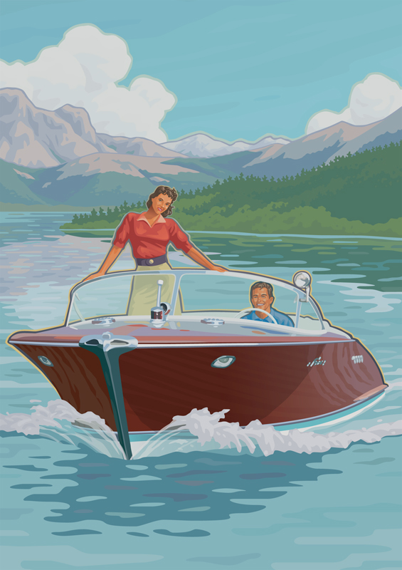 Hagerty Classic Boats On Behance