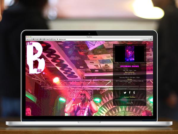 The Binx band Multimedia  Responsive