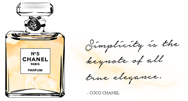 Chanel No5 Parfum Quote On Behance