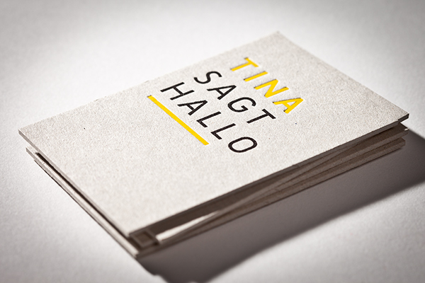 Tactile business cards on behance business card tina graphic design printed on cardboard with ink hot foil stamping colourmoves Images