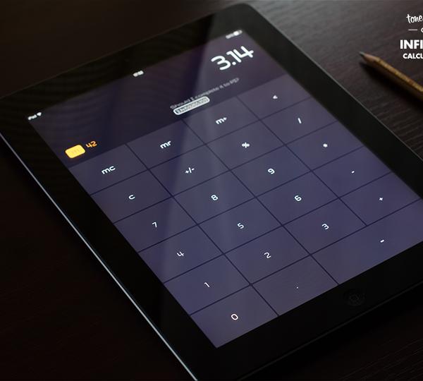 app ios ios7 apple iPad calculator calc