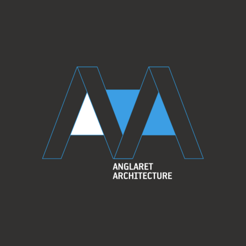 Aa anglaret architecture logo on behance for S architecture logo