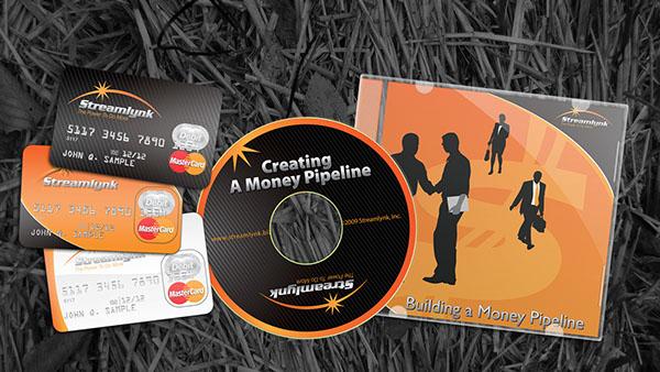 brochures catalogs cd credit card