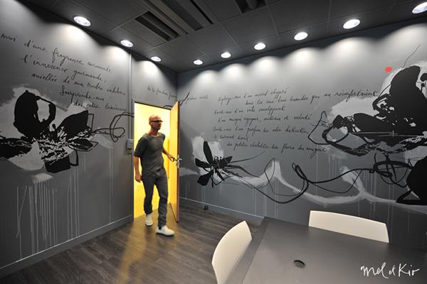 takasago mel et kio wall design design mural