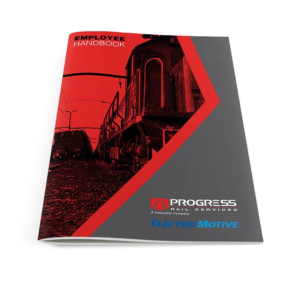 employee handbook design on pantone canvas gallery