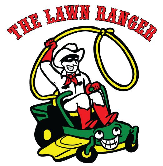 Custom Cartoon Amp Business Card Deisgn For Lawn Ranger On