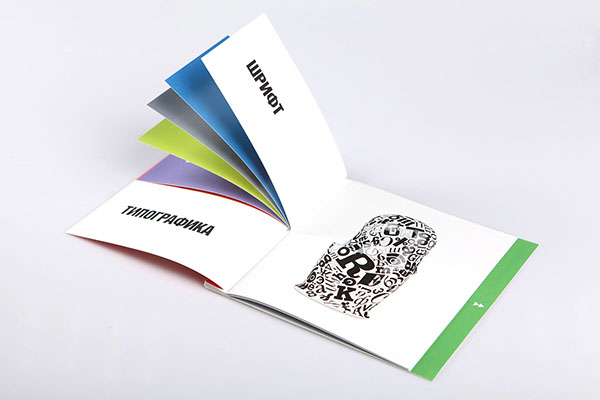 Matryoshka interactive booklet on behance for Interactive brochure design