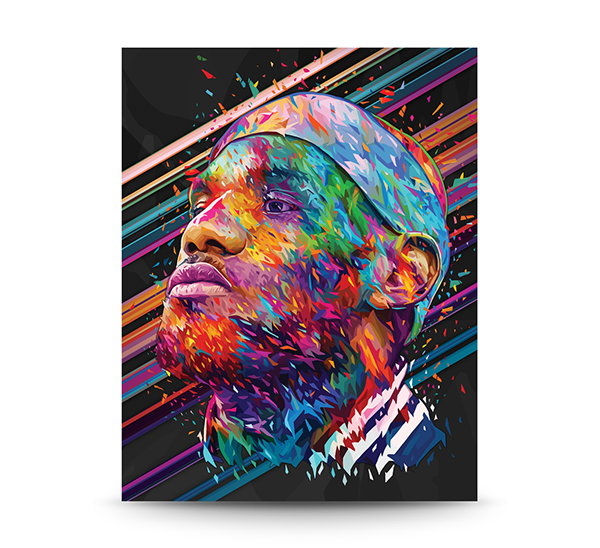 LeBron James by Alessandro Pautasso