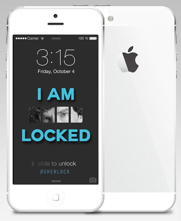 I Am Sherlocked Wallpaper on Behance I Am Sherlocked Iphone Wallpaper