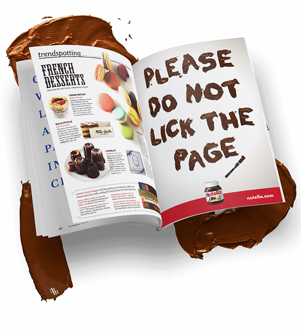 Nutella Print Ad On Student Show