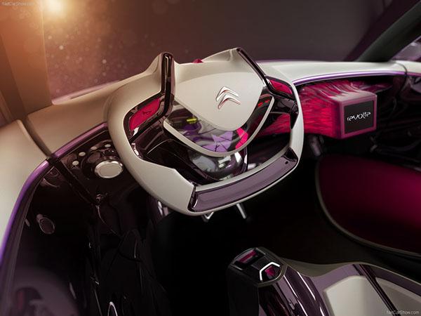 Interior cardesign citroen révolte car automotive