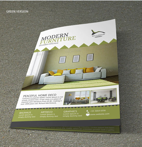 Brochure Interior Design About Furniture ~ Furniture store brochure design on behance